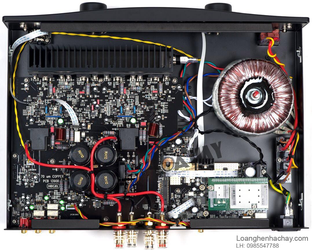 ampli hegel h90 chi tiet