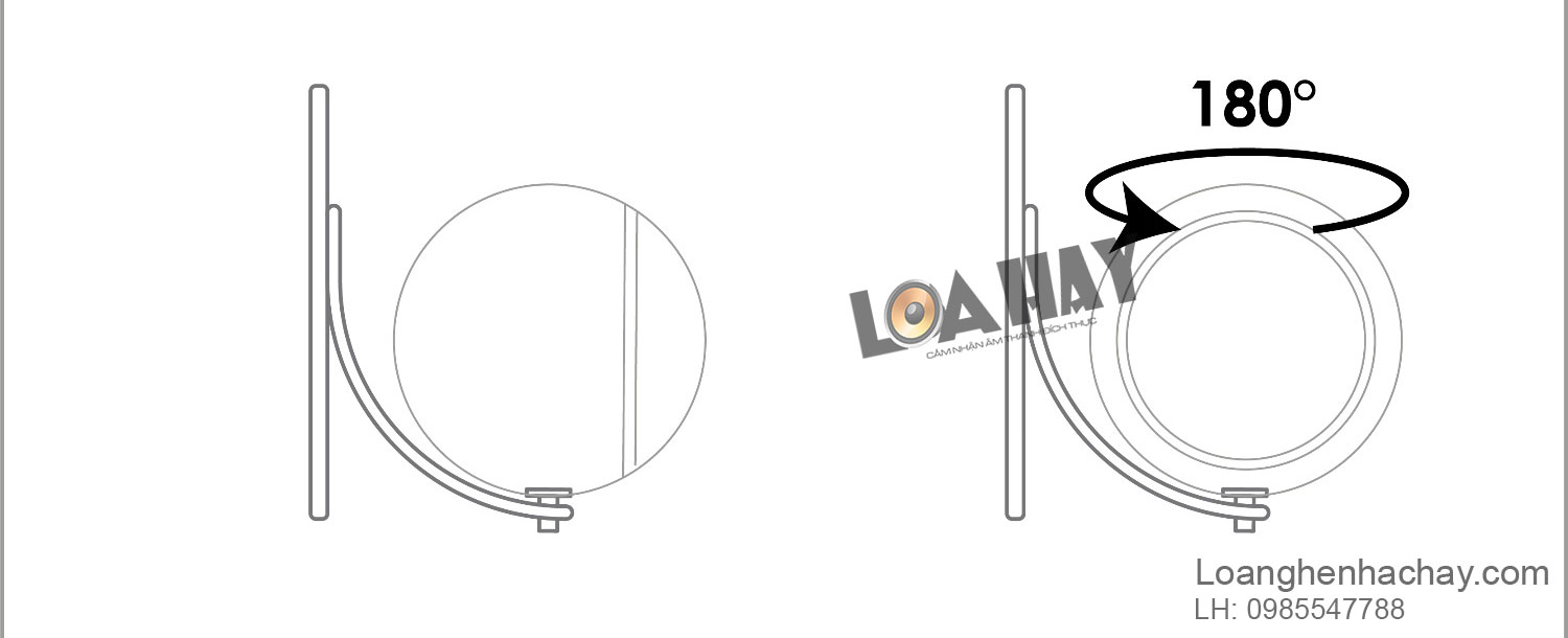 gia treo loa Elipson Wall Mount Planet L 1 tien ich