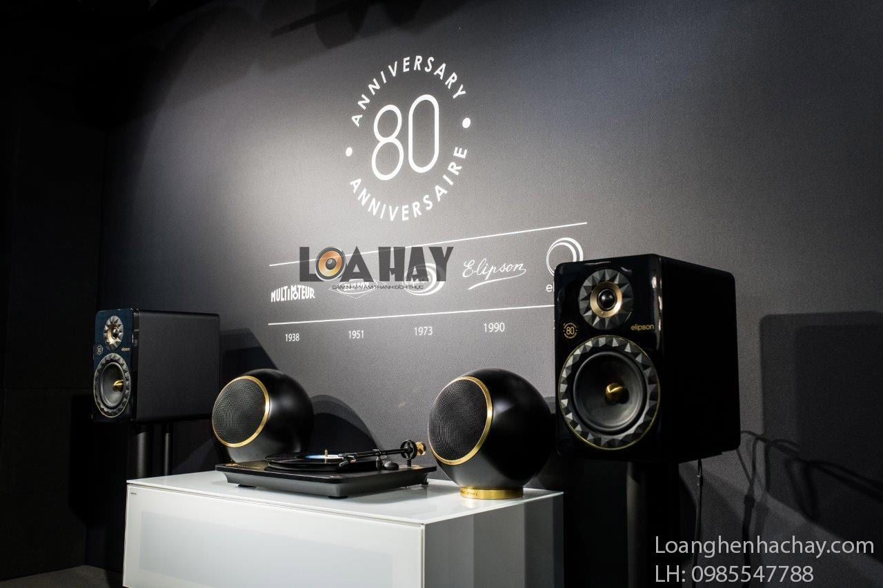 loa elipson planet L 80th Anniversary black