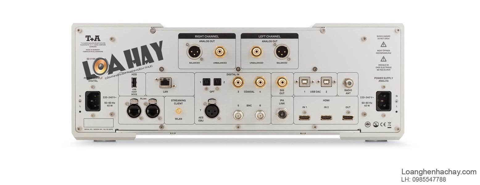 DAC TA SD 3100 HV sau a