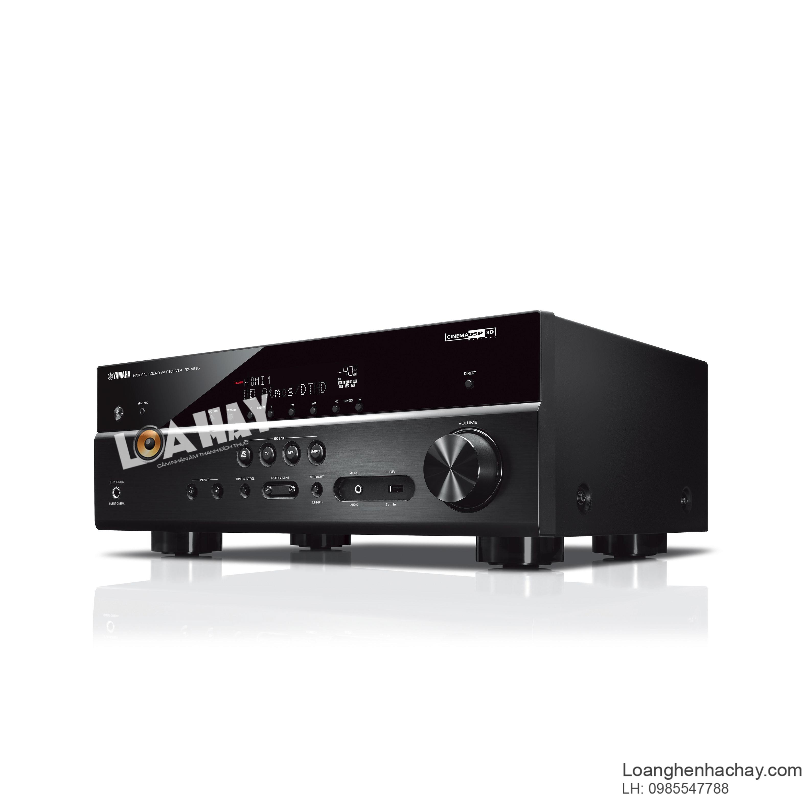 ampli Yamaha RX V585 cheo